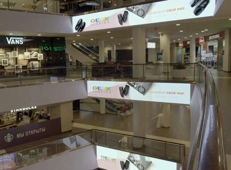 Светодиодные экраны для ТЦ «Галерея», г. Санкт-Петербург