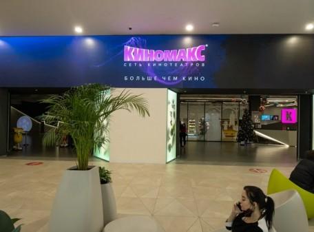Экраны на входную группу для кинотеатра Киномакс