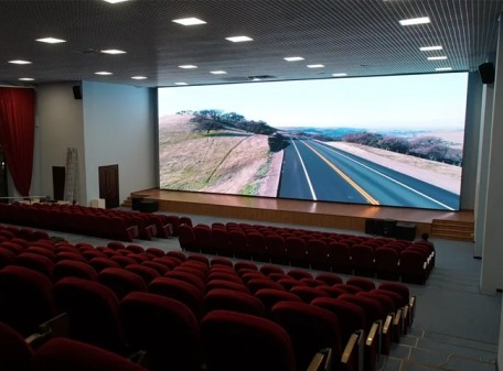 Прокатный экран для исторического парка «Россия — Моя история»